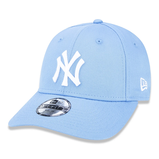 BONÉ NEW ERA JUVENIL 9FORTY MLB NEW YORK YANKEES - AZUL CLARO
