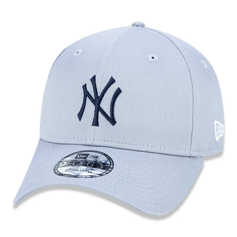 BONÉ NEW ERA MLB NEW YORK YANKEES ABA CURVA SNAPBACK II 9FORTY - CINZA