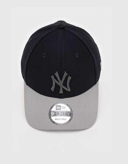BONÉ NEW ERA NEW YORK 940 YANKEES MLB - MARINHO E CINZA