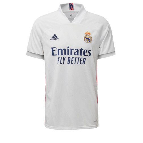 CAMISA ADIDAS REAL MADRID I 20/21 - BRANCO