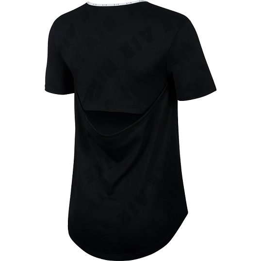 CAMISETA NIKE AIR RUNNING TOP FEMININO - PRETO