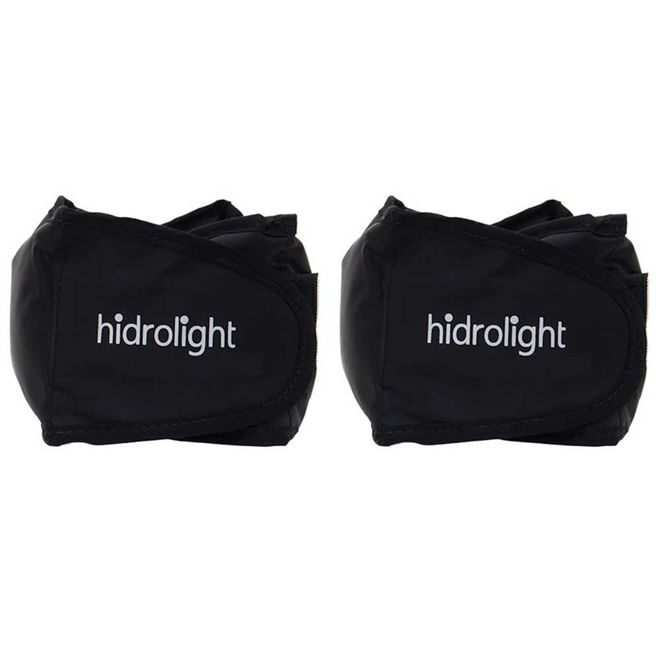 Caneleira Hidrolight Par 2x1kg - Preto