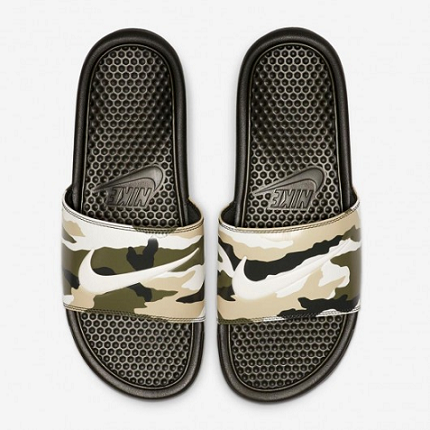 CHINELO NIKE BENASSI JUST DO IT - CAMUFLADO CLARO