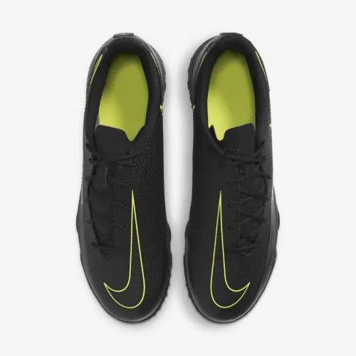 CHUTEIRA SOCIETY NIKE PHANTOM GT CLUB - PRETO E LIME