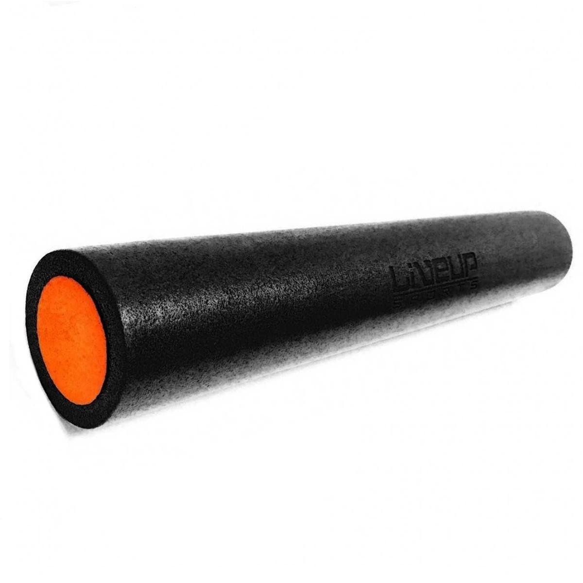 Rolo de Yoga para Pilates LiveUP 90x15cm - Preto