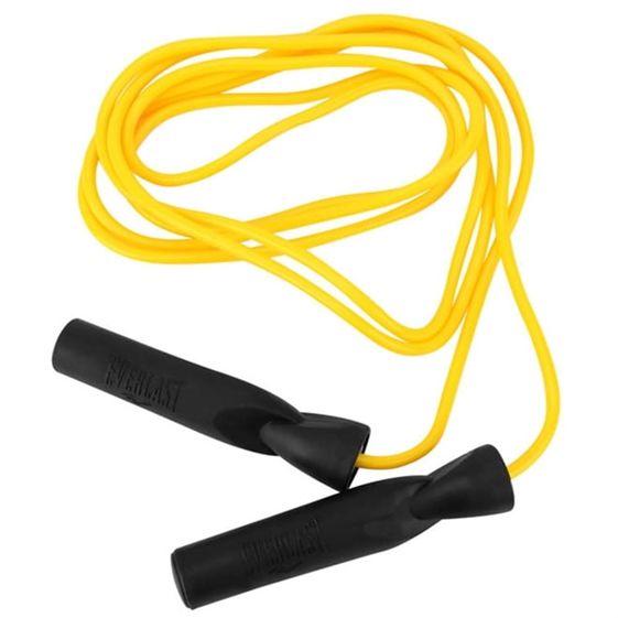 Corda de Pular com Rolamento Everlast Pvc - Amarela