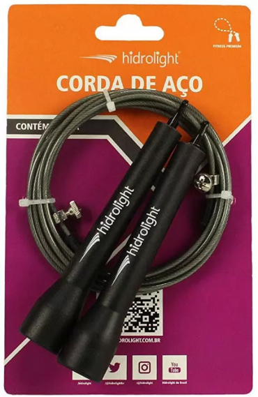 CORDA DE PULAR SPEED HIDROLIGHT AÇO