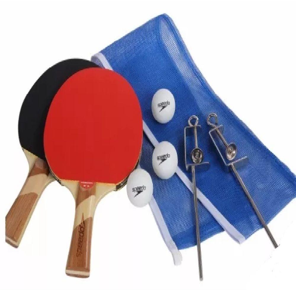 Kit Ping Pong Speedo Tenis De Mesa