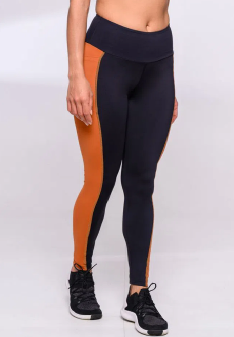 LEGGING AUTHEN GRIT FOCUS COBRE