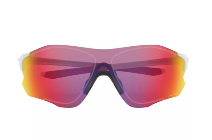 OCULOS OAKLEY EVZERO PATH MATTE WHITE PRIZM ROAD RUBY