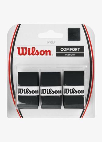 OVERGRIP WILSON PRO (PACK COM 3 UN.) - PRETO