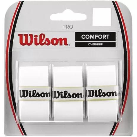 OVERGRIP WILSON PRO (PACK COM 3 UN.) -  BRANCO