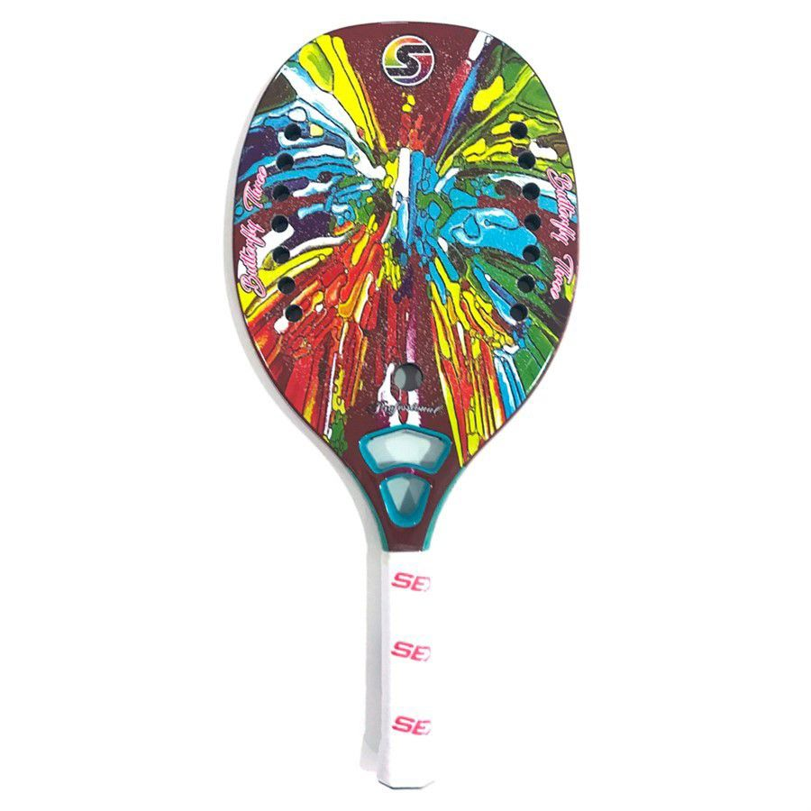 RAQUETE DE BEACH TENNIS SEXY BUTTERFLY THREE