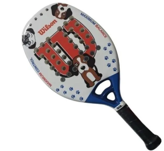 RAQUETE DE BEACH TENNIS WILSON JR DOG