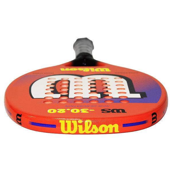 RAQUETE DE BEACH TENNIS WILSON WS 30.20 - LARANJA