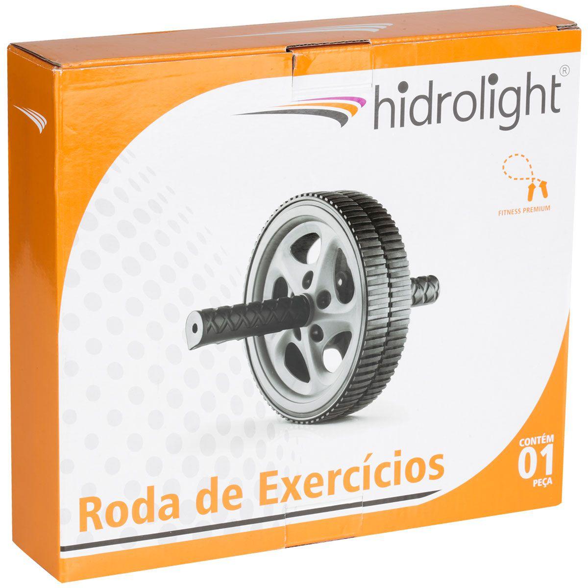 Roda de Exercícios Hidrolight - CINZA