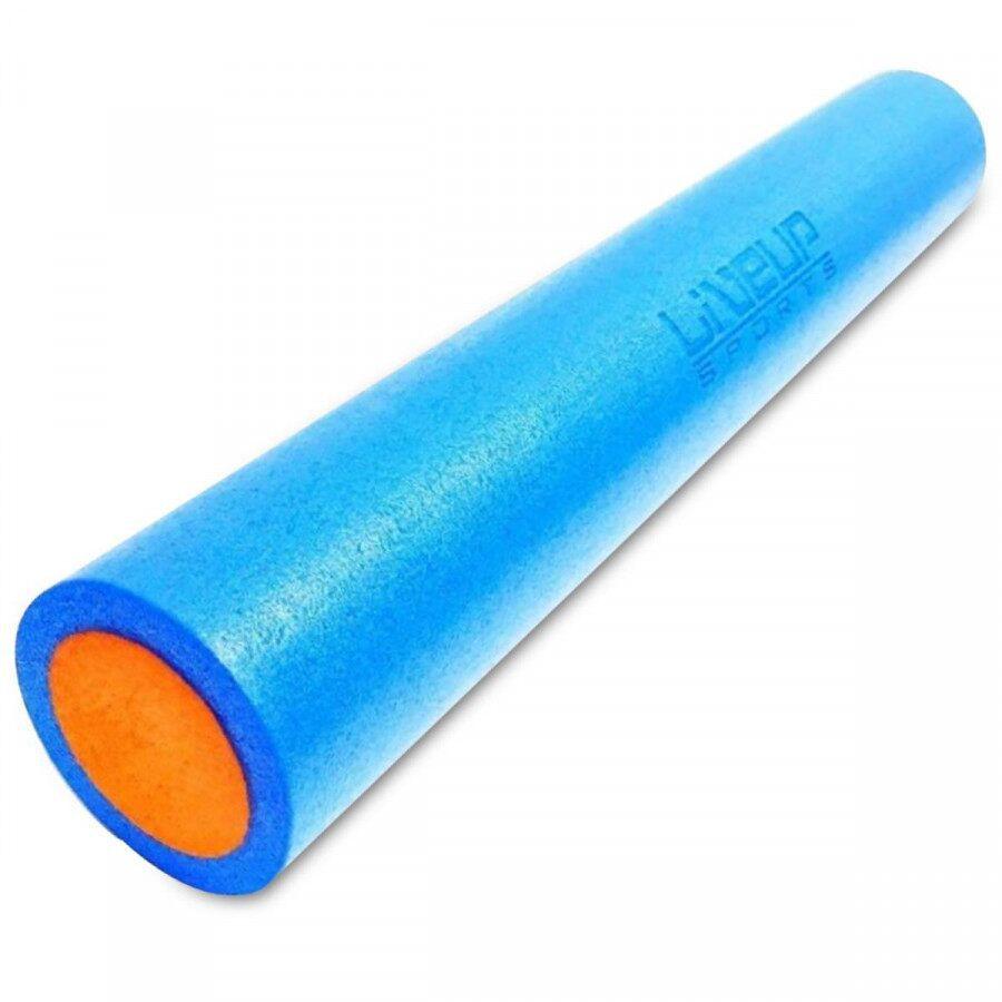 Rolo de Yoga para Pilates LiveUP 90x15cm - Azul
