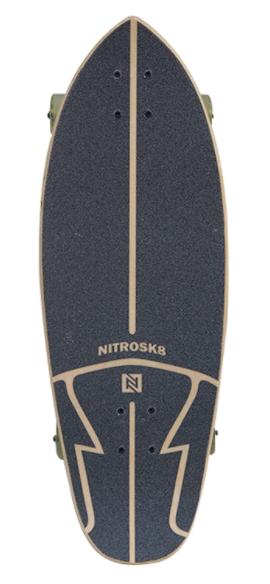 SKATE NITRO SIMULADOR DE SURF BATIK