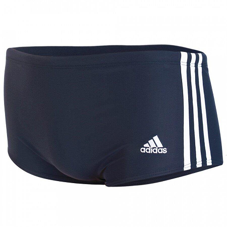 SUNGA ADIDAS 3S WIDE ADULTO - AZUL