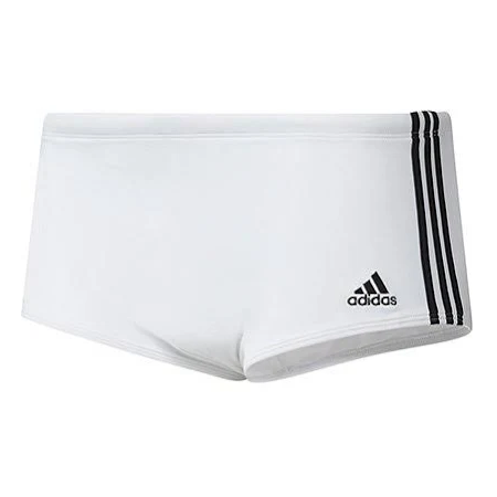 SUNGA ADIDAS 3S WIDE ADULTO - BRANCO
