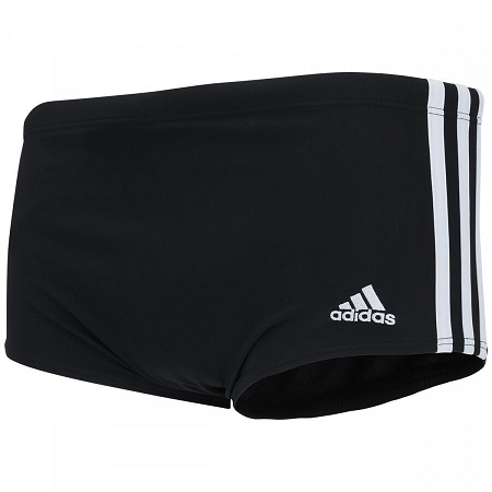 SUNGA ADIDAS 3S WIDE ADULTO - PRETO