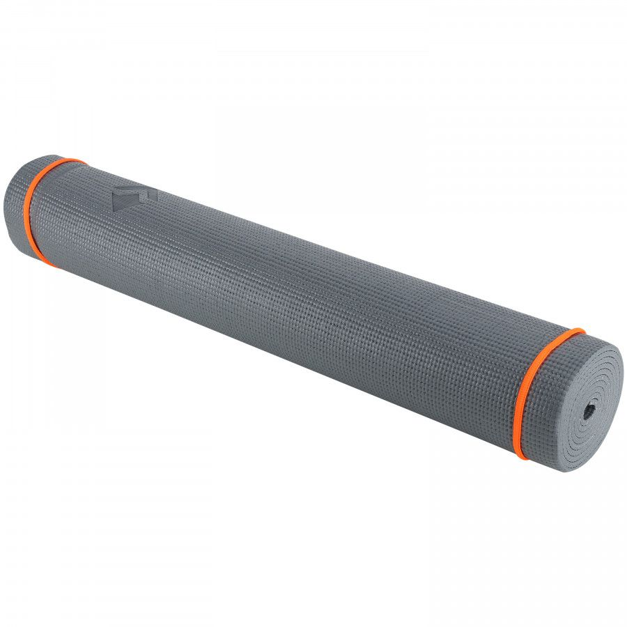 TAPETE DE YOGA VOLLO PVC - CINZA