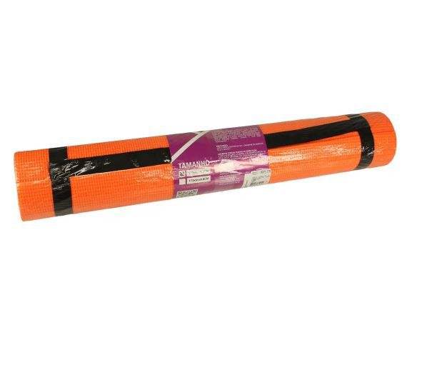 TAPETE HIDROLIGHT PARA EXERCÍCIOS PVC - LARANJA