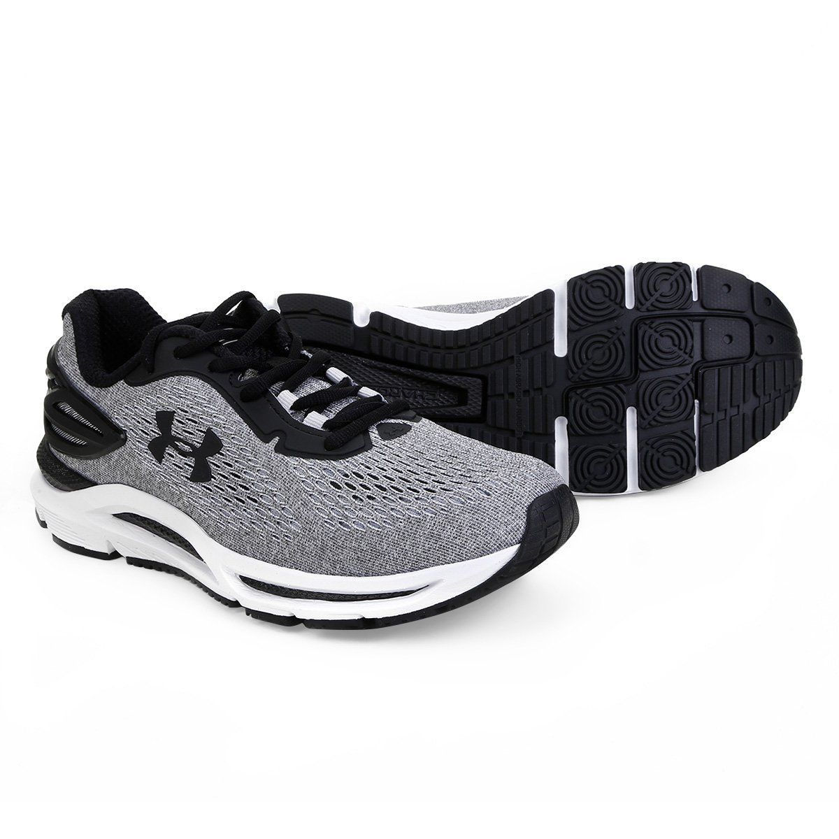 TÊNIS UNDER ARMOUR CHARGED SPREAD MASCULINO - CINZA