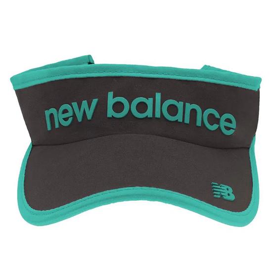 Viseira  New Balance Logo - Preto e Verde