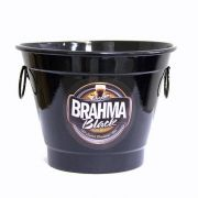 Balde De Gelo Cerveja Bebidas Alumínio 6 Litros Brahma Black