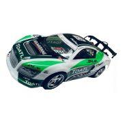 Carro Stock Drift Controle Remoto 5 Funções Verde