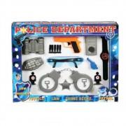 Kit Policial E Detetive Infantil Brinquedo Conjunto Com 12 Peças