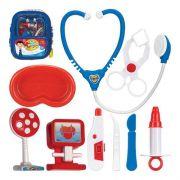 Maleta Médico boy Infantil Com Acessório Kit Médico Menino