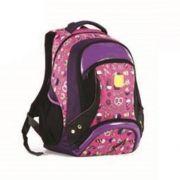 Mochila Escolar Juvenil Feminina Guloseimas 18 Roxa Wincy - MJ 8405