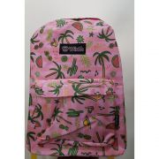 MOCHILA JUVENIL FEMININA BASIC WINTH TROPICAL 17