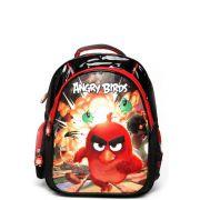 Mochila Santino Angry Birds 3D Preta/Vermelha (ABM 800501)