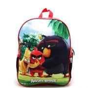 Mochila Santino Angry Birds 3D Vermelha/Preta ABM 802030
