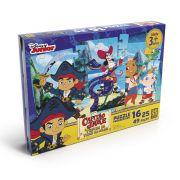 Quebra Cabeça Puzzle Progressivo Jake E Os Piratas 16,25 e 49 pçs - Grow
