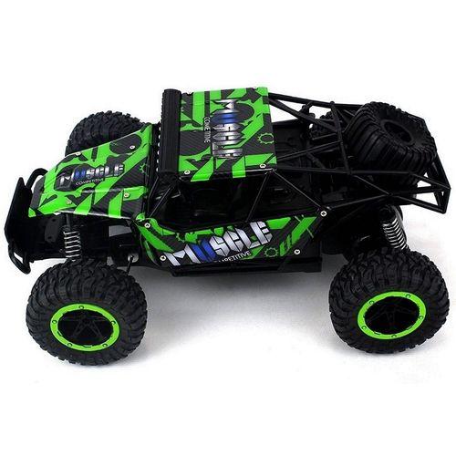 Automodelo Carrinho Controle Remoto Extreme Racing  2.4ghz  Verde - ZF4199