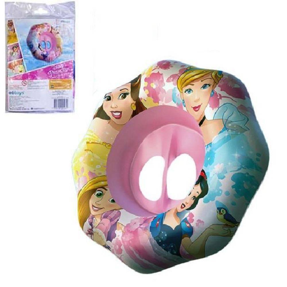 Boia fralda Inflável circular Princesas Disney 62cm  DYIN-065