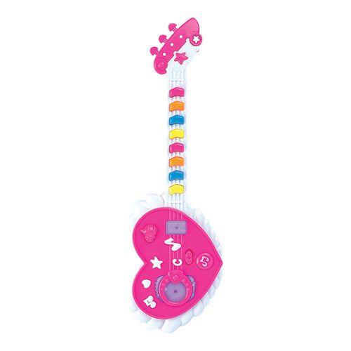 Brinquedo Divertido Guitarra Musical Com Efeito De Luzes - ZFT 053