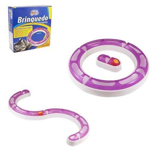 Brinquedo Para Gato Tunel Com Bolinha