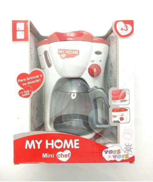 Cafeteira Infantil Luz E Som My Home - Toys & Toys