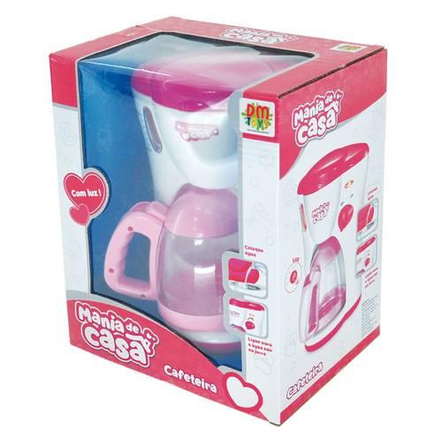 Cafeteira Mania De Casa Com Luz E Som- Dm Toys - DMT 5592
