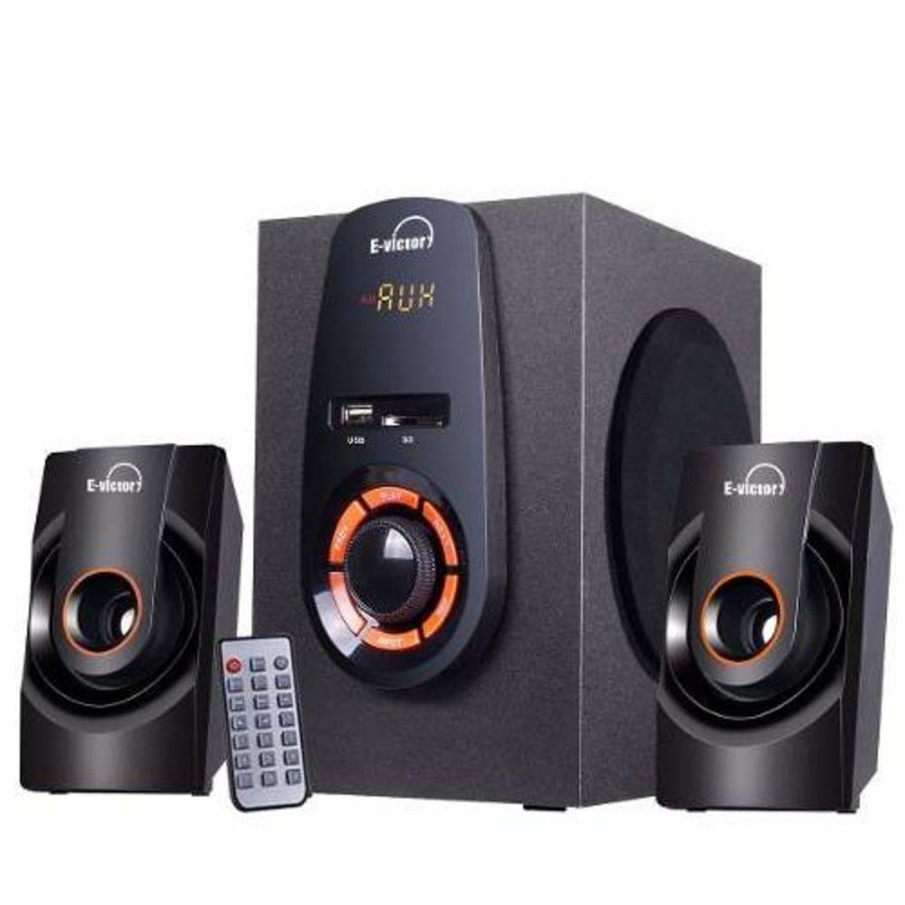 Caixa De Som Amplificada Com Radio e Bluetooth Kp-DH 6010