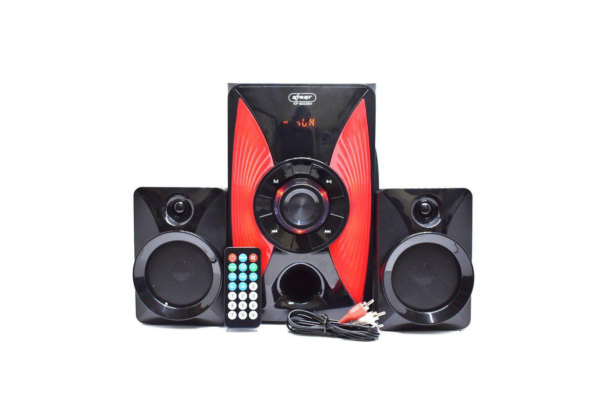 Caixa De Som Com Sub Bluetooth 14w - Kp-6023bh