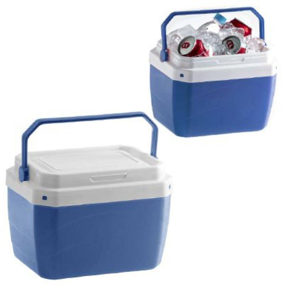 Caixa Termica De Plastico Azul 6l 20,8x21,3x28,3cm