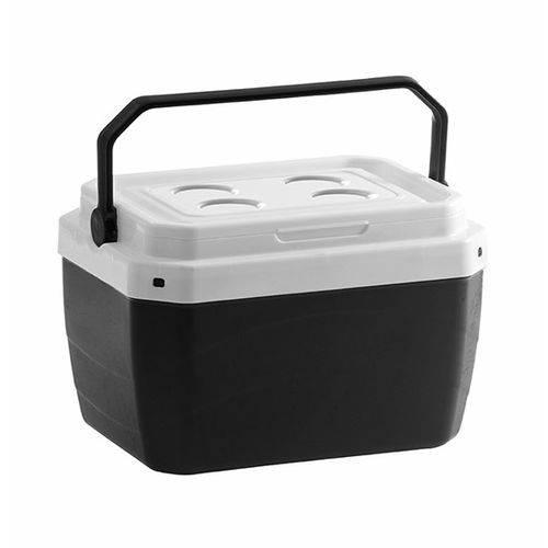 Caixa Térmica De Plastico Preta 17 L 39,5 x 31 x 25,5 cm