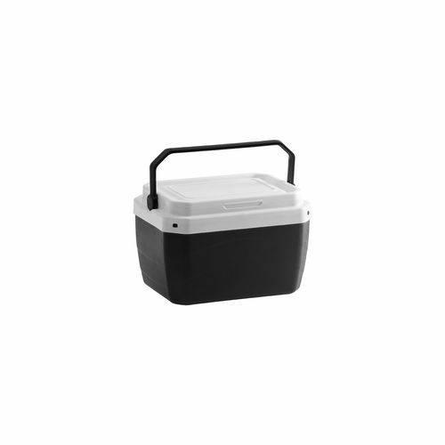 Caixa Térmica de Plástico - Preta - 6 L