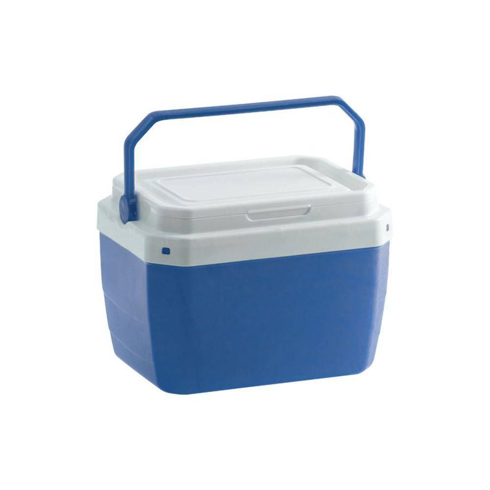 Caixa Térmica Plástica Azul 6 Litros